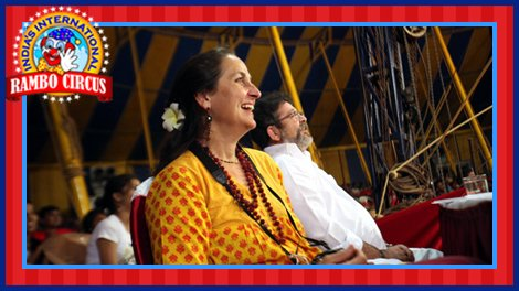 Honourable Judges enjoying circus acts