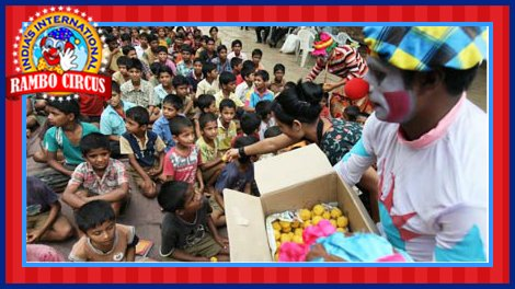 Sweet distribution to kids