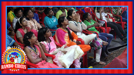 Audience Enjoying Circus